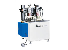 Knurling and Strip-inserting Machine